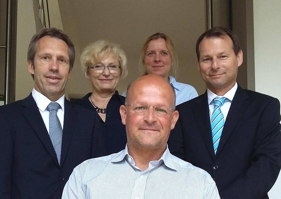 Engagement für das Stadtmuseum: (v.l.n.r.) Dr. Dietmar Freitag, Gabriela Wolff-Eichel, Dr. Kai Füldner, Kathrin Schellenberg und Dr. Frank Mannewitz.